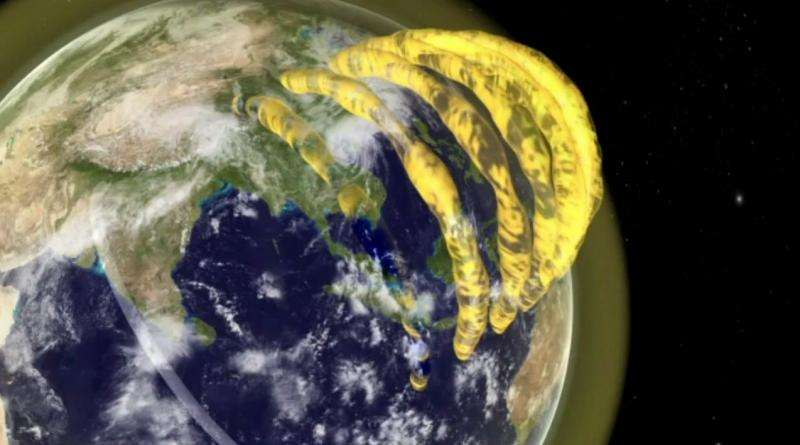 Astronomers make real-time, 3-D movies of plasma tubes drifting overhead