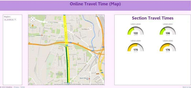 Traffic monitoring to generate knowledge