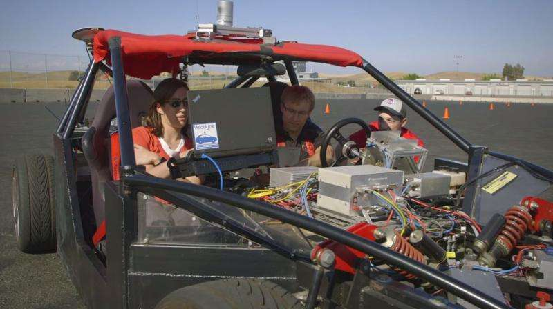 Engineering students teach autonomous cars to avoid obstacles (w/ Video)