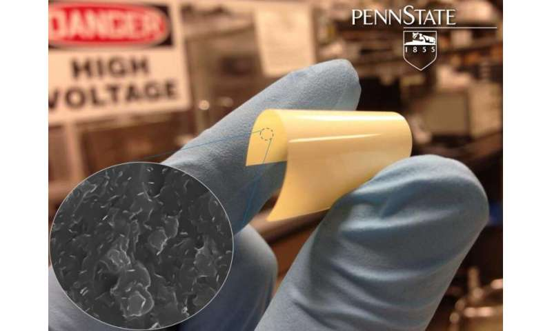 New polymer able to store energy at higher temperatures