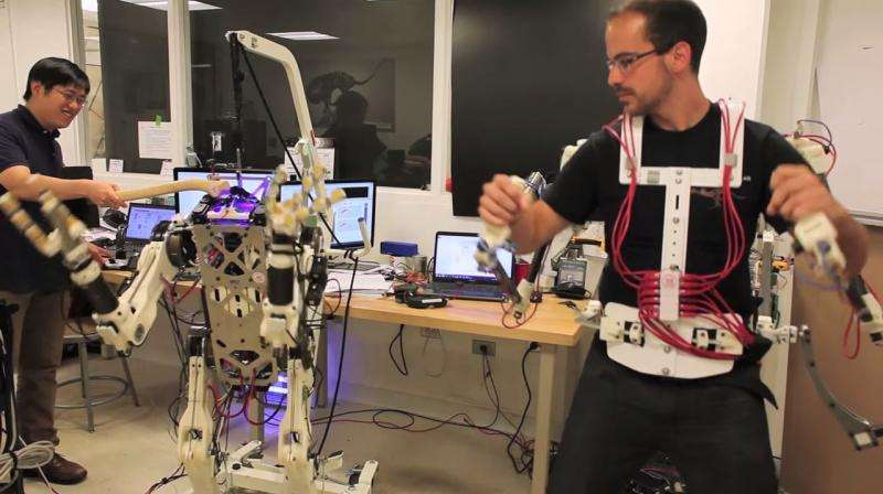 HERMES robot and operator can share life-saving moments  (w/ video)