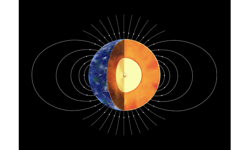 New study indicates Earth's inner core was formed 1-1.5 billion years ago