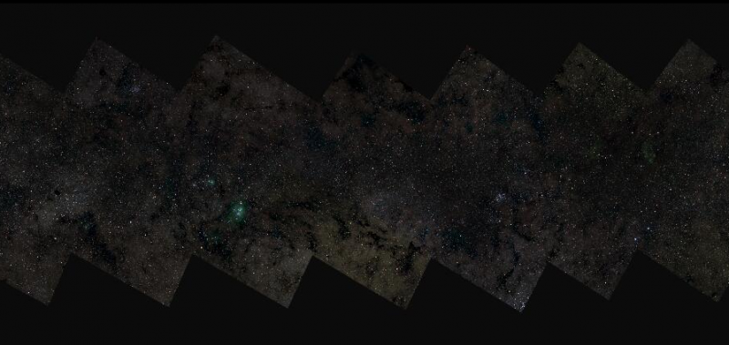 Milky Way photo with 46 billion pixels is the largest astronomical image of all time