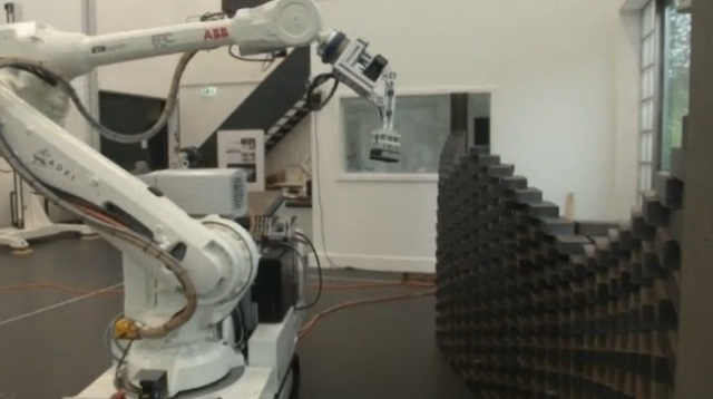 Construction site robot adapts as tools drop, plans change