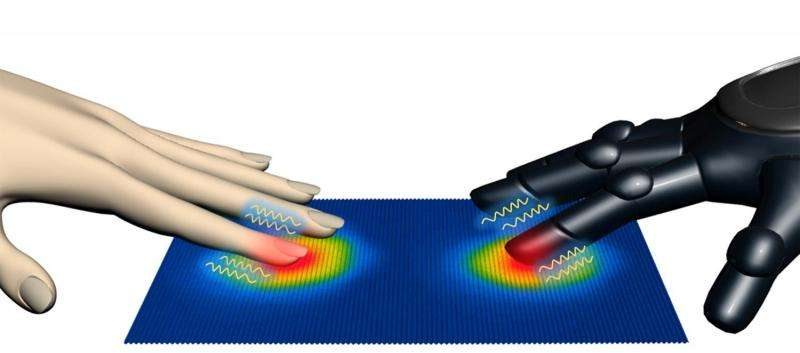New artificial skin can detect pressure and heat simultaneously