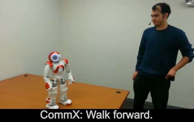 Robot would refuse to jump off a bridge and it would tell you why