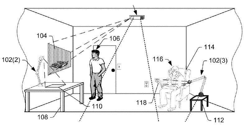 Two Amazon patents focus on augmented reality technology