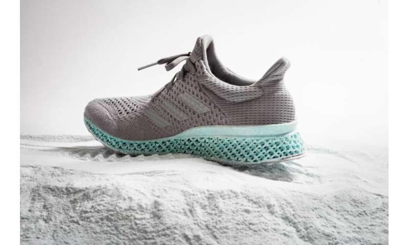 Using ocean plastic, Adidas concept shows shoe rethink