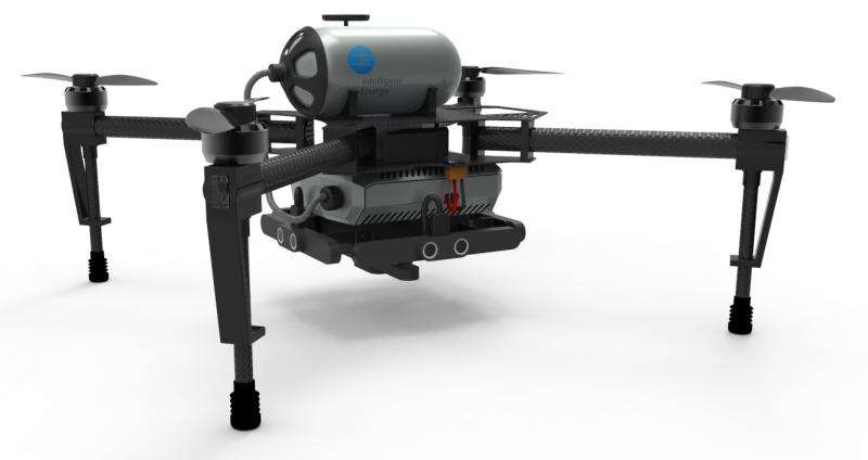 Hydrogen fuel cells may turn corner in commercial drone use