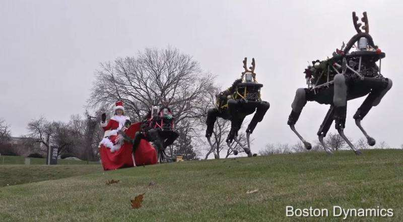 Reindeer robots: 'Twas the fright before Christmas (w/ Video)