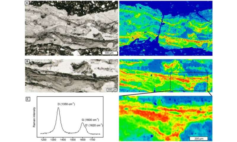 Researchers find evidence of cavity-dwelling microbial life from 3 billion years ago
