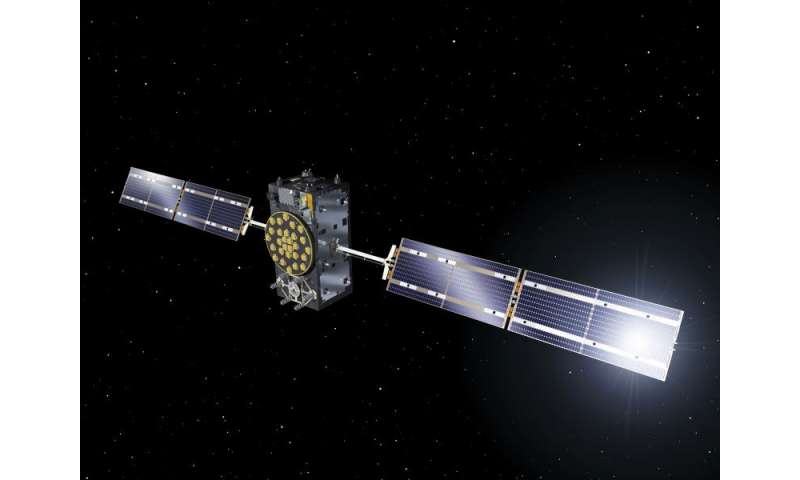 Galileo satellites fuelled and ready for launcher attachment