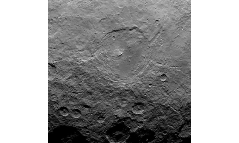 Is that a big crater on Pluto? Pyramidal mountain found on Ceres