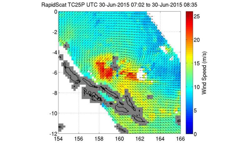 Tropical Cyclone Raquel triggers warnings in Solomon Islands