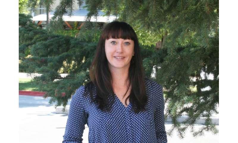 Utah State University aquatic ecologist Trisha Atwood