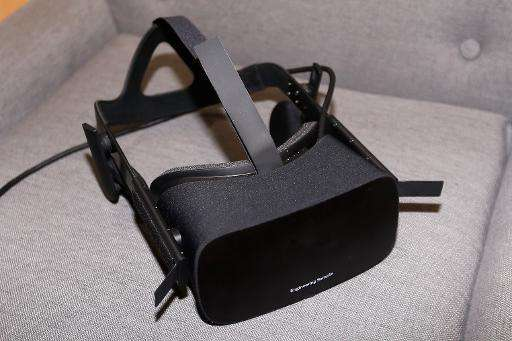 Virtual reality head-mounted display Oculus Rift CV1 is seen at the Annual Gaming Industry Conference E3 in Los Angeles, on June