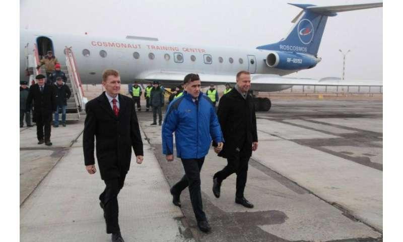 ESA astronaut Tim Peake arrives in Baikonur on his last stop before space