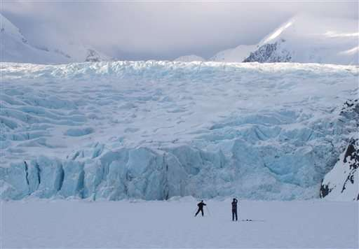 Global warming carving changes into Alaska in fire and ice