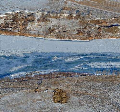 Pipeline breach located beneath Montana's Yellowstone River
