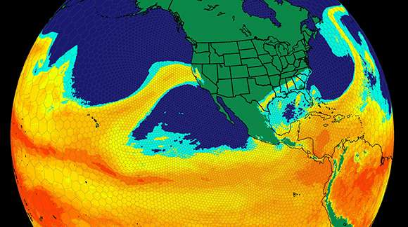 Researchers find more atmospheric rivers will hit western North America