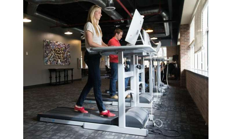 New research shows impact treadmill desks have on job performance