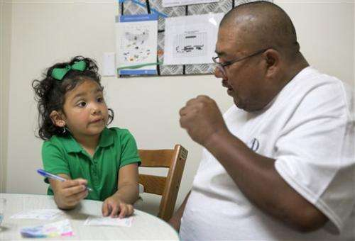 Researchers test device to help deaf children detect sounds