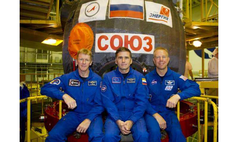 ESA astronaut Tim Peake arrives in Baikonur on his last stop before space