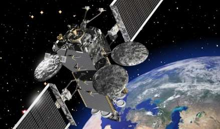 A2100 satellite is now reprogrammable in-flight