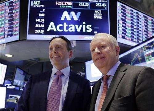 Actavis plans name change to Allergan