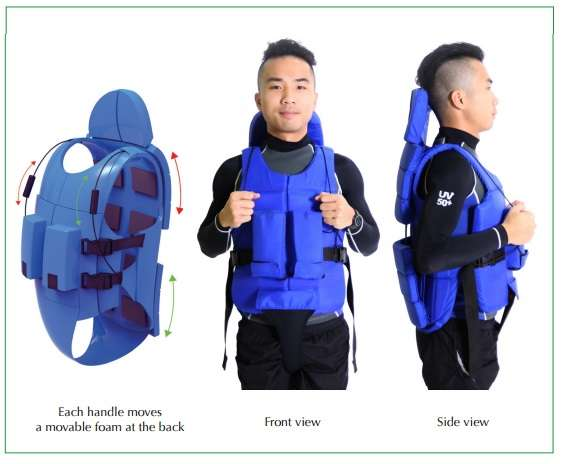 Adaptive hydrotherapy wetsuit