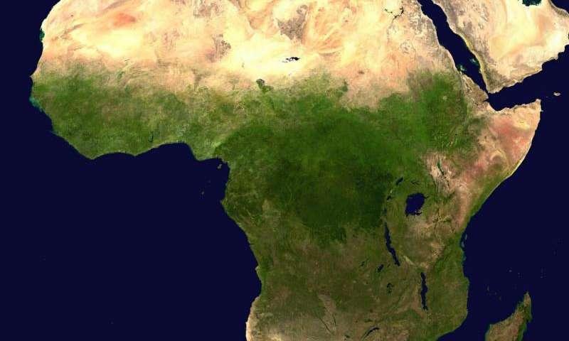 Africa is splitting in two