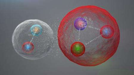 After a half century, the exotic pentaquark particle is found