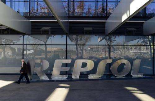 After two months of searching for oil more than two kilometres (1.2 miles) below the sea bed off the Canary Islands, Repsol said