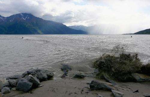 A general view of landscape near Anchorage, Alaska, on July 13, 2014