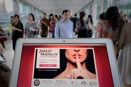 """A hacker group identified as the """"Impact Team"""" released emails and user account information of Ashley Madison members"""