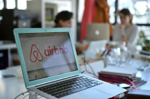 "Airbnb is among the most prominent of the ""sharing economy"" startups, helping property dwellers rent a room or their e"
