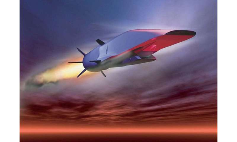 Air Force scientists are working on hypersonic air vehicle