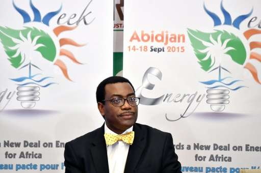 Akinwumi Adesina, president of the African Development Bank, said Africa is not getting its fair share of climate funds—which la