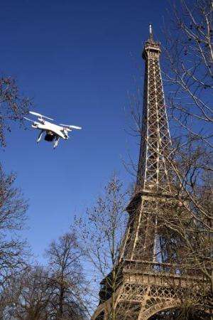 Al-Jazeera journalists were arrested for flying a drone in Paris' Bois de Boulogne park on the western edge of the French capita