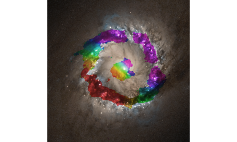 ALMA precisely measures black hole mass