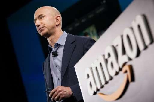 Amazon.com founder and CEO Jeff Bezos, on June 18, 2014 in Seattle, Washington