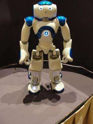 A MEDi robot on display at the Consumer Electronics Show in Las Vegas, Nevada, January 5, 2015