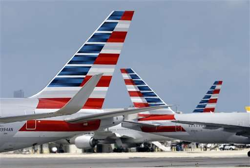 American stops flights at 3 airports, problems soon resolved