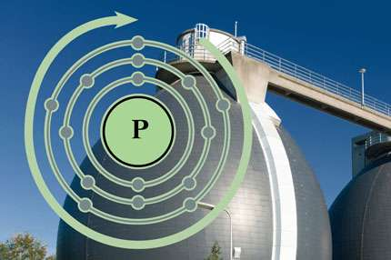 A model approach for sustainable phosphorus recovery from wastewater