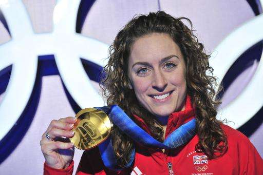 Amy Williams was one of five elite athletes who participated in a series of tests that found that extreme sportsmen and women pe
