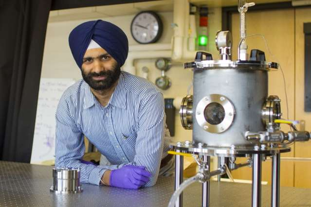 Analysis of textured surfaces could lead to more efficient, less dangerous power plants