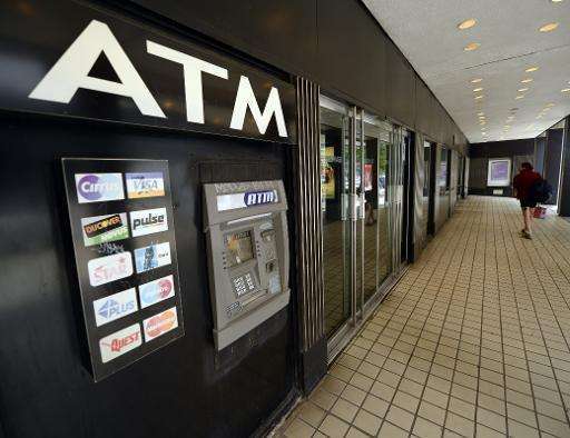 An ATM machine on Third Avenue in New York that was used as cyber thieves around the world stole $45 million  in May 2013
