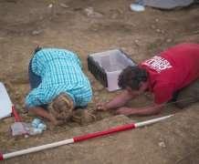 Ancient storage jar discovered under Roman Road