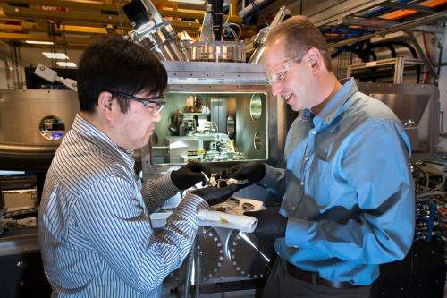 A new X-ray microscope for nanoscale imaging