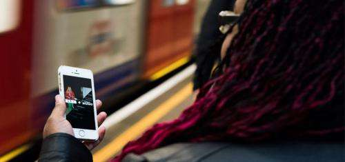 App, beacons guide travel on underground for vision-impaired
